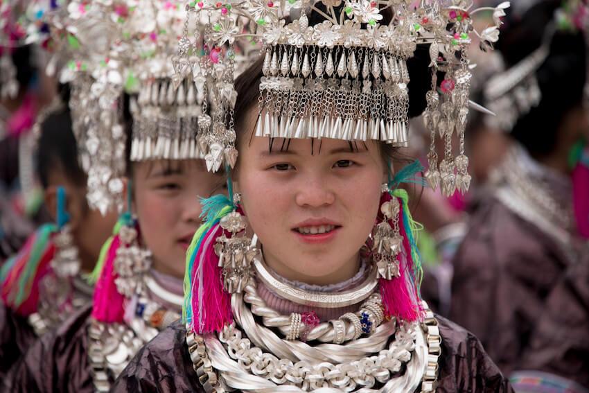 Guizhou Miao ethnie