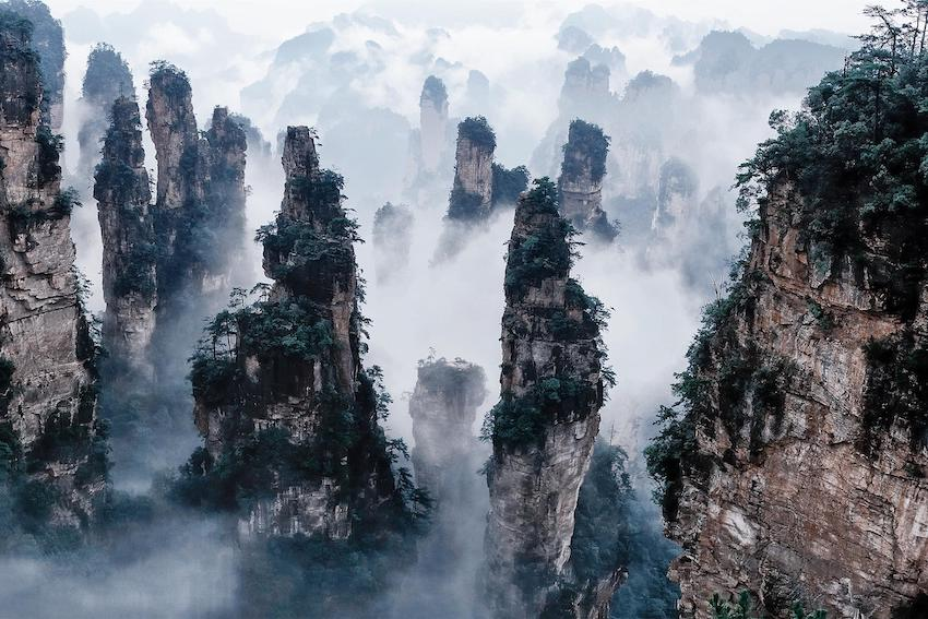 Zhangjiajie-Parc-nationale