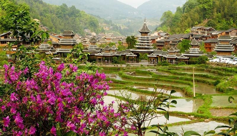 Village de Zhaoxing Guizhou