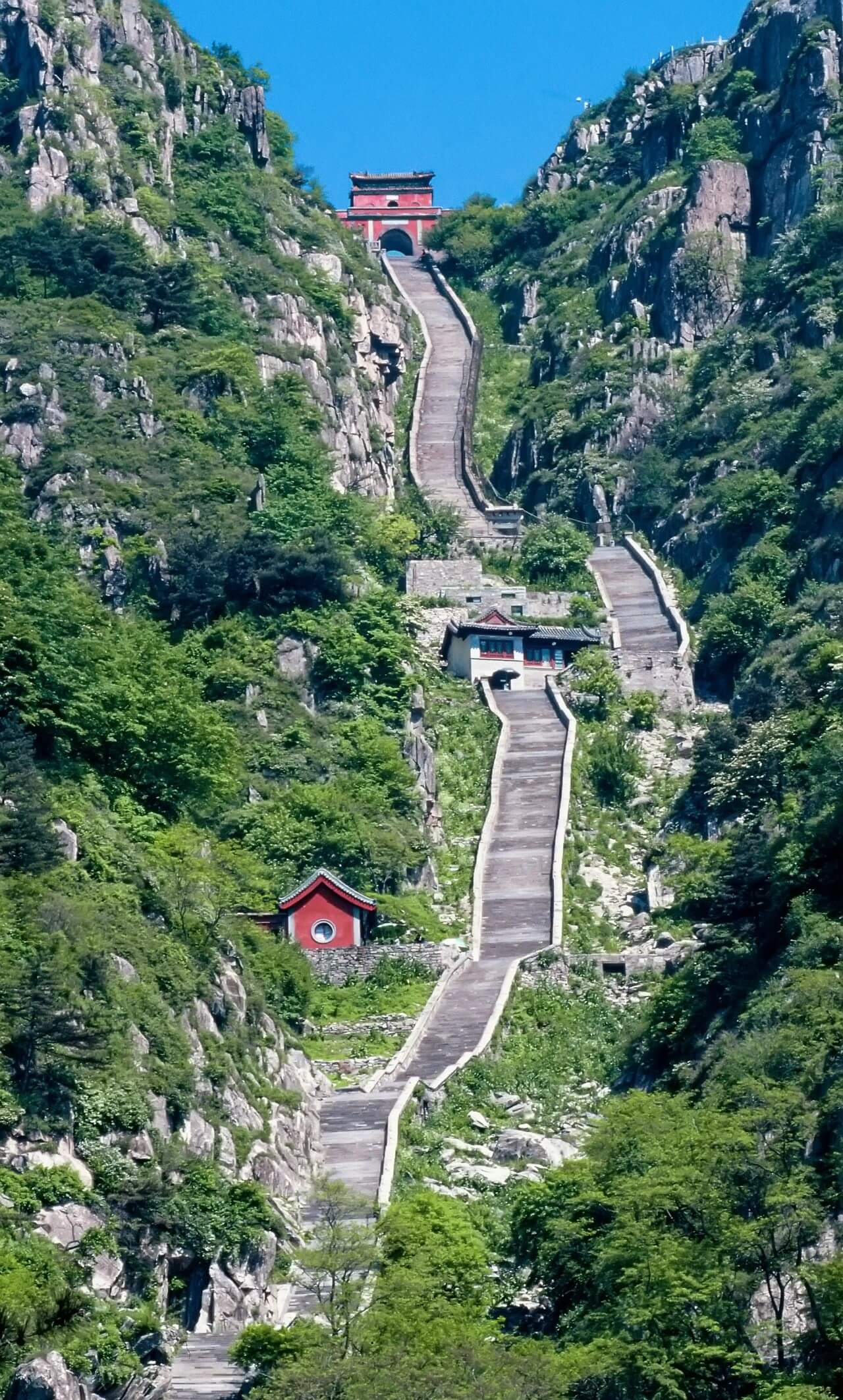 Le mont Taishan